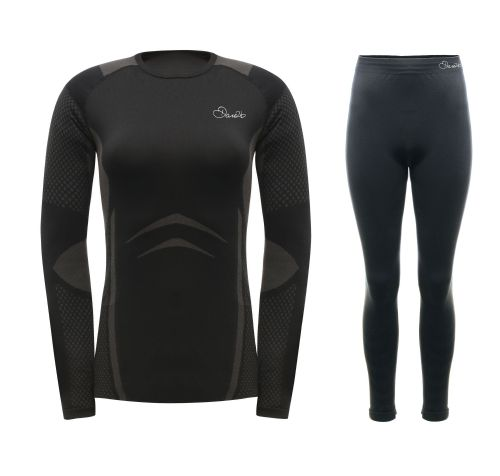 Dare2b WOMEN'S ZONAL III BASE LAYER SET - Black